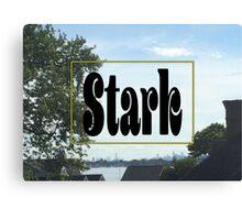 Stark Skyline Canvas Print