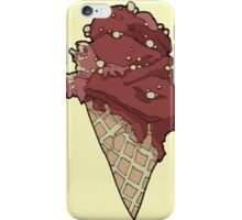 Crispy choco ice cream iPhone Case/Skin