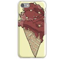 Crispy choco ice cream iPhone Case/Skin