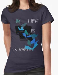 Strange-7 Womens Fitted T-Shirt