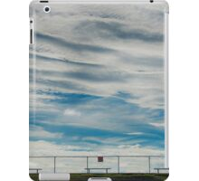 Clouds and fence iPad Case/Skin
