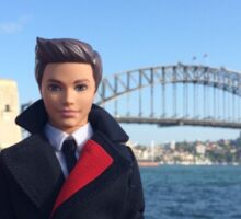 Barbie & Ken Go Flying Sticker