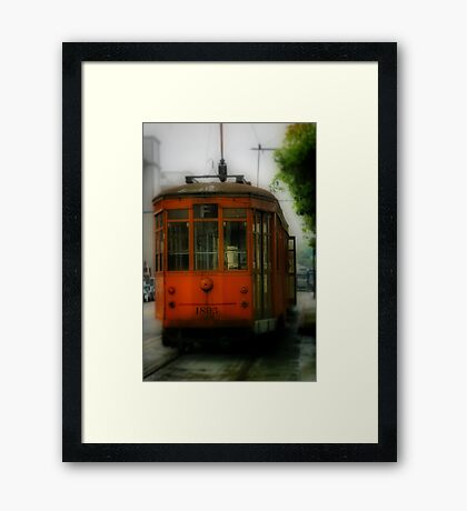 Street Car Framed Print