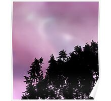 Lilac sunset Poster