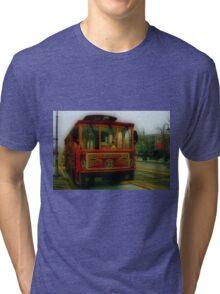San Francisco Trolley Tri-blend T-Shirt