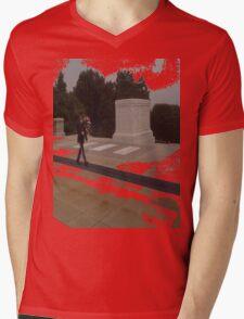 Red FriDay Mens V-Neck T-Shirt