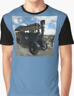 Foden Traction Engine, Tyabb Airshow, Australia 2012 Graphic T-Shirt