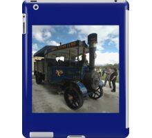 Foden Traction Engine, Tyabb Airshow, Australia 2012 iPad Case/Skin