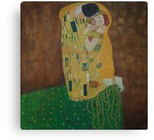 Tribute to Gustav Klimt Canvas Print