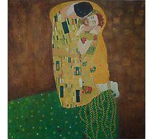 Tribute to Gustav Klimt Photographic Print