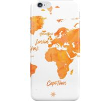 World map mango JV ed iPhone Case/Skin