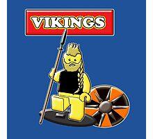 Ragnar (Vikings) // Lego Photographic Print
