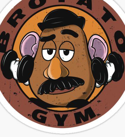 BROTATO GYM Sticker