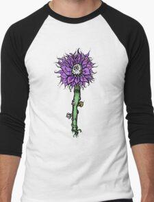 Skull Bloom Men's Baseball ¾ T-Shirt