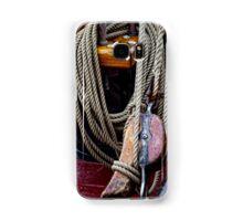 Ship rope Samsung Galaxy Case/Skin