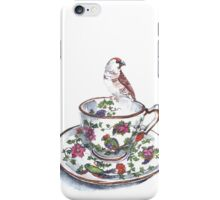 High Tea Plum Headed Finch iPhone Case/Skin