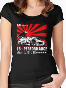 GTR LB Performance Women's Fitted Scoop T-Shirt