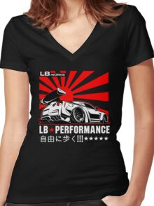 GTR LB Performance Women's Fitted V-Neck T-Shirt
