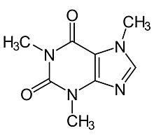 Caffeine molecule :) Photographic Print