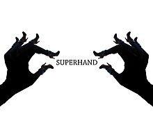 Superhand Hands  Photographic Print