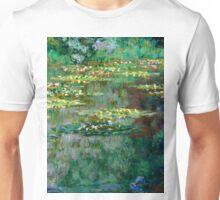 1904-Claude Monet-Le Bassin des Nympheas-87 x 91 Unisex T-Shirt