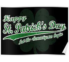 St Patrick's Poster