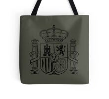 Spanish Shield - Black Edition Tote Bag