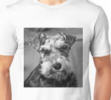Flo in Black and White Unisex T-Shirt