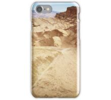 Zabriskie Point  iPhone Case/Skin