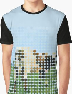 Pink  Floyd, Atom Heart Mother, Benday Dots Graphic T-Shirt