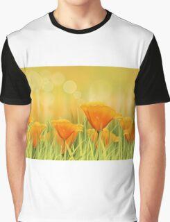 Orange field Graphic T-Shirt
