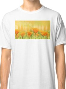 Orange field Classic T-Shirt