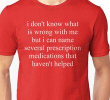 Prescription Medications Unisex T-Shirt
