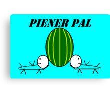 Piener Pal logo Canvas Print