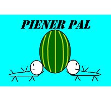 Piener Pal logo Photographic Print