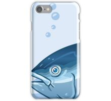 Tuna Watercolor Underwater World iPhone Case/Skin