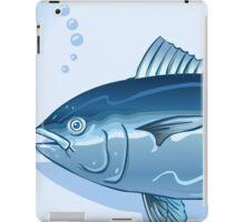 Tuna Watercolor Underwater World iPad Case/Skin