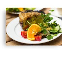 Delicious Lasagna - Food Photography Canvas Print