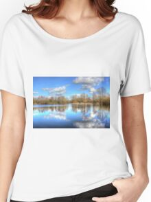 Lake Reflections Women's Relaxed Fit T-Shirt