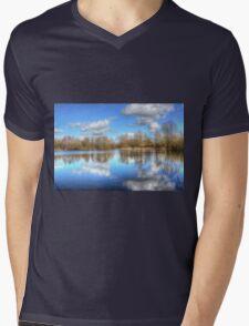 Lake Reflections Mens V-Neck T-Shirt