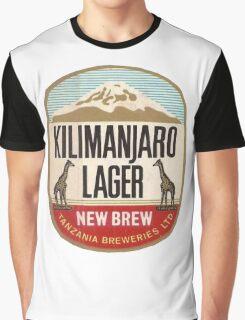 KILIMANJARO LAGER BEER Graphic T-Shirt