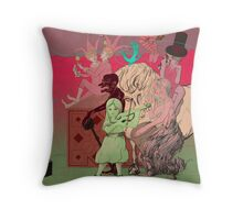 Gypsy Circus Throw Pillow