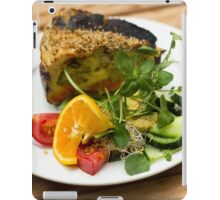 Vegetarian Meal - Food Photography iPad Case/Skin
