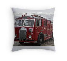 Fire truck Throw Pillow