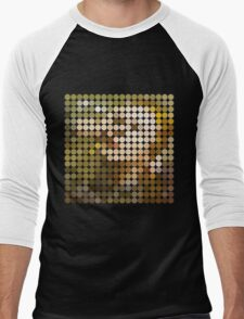 David Bowie, Hunky Dory, Benday Dots Men's Baseball ¾ T-Shirt