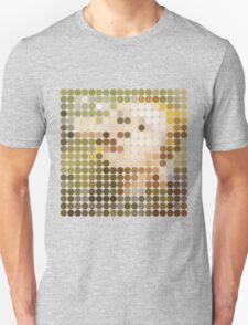 David Bowie, Hunky Dory, Benday Dots Unisex T-Shirt
