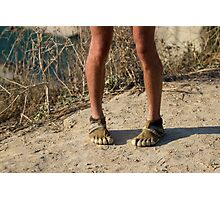 Tired Feet - Sport Photography Photographic Print