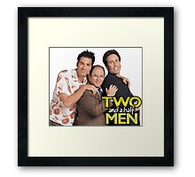 Two and a Half Men Framed Print