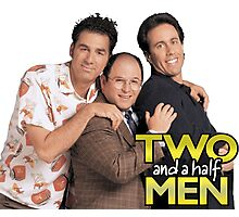 Two and a Half Men Photographic Print