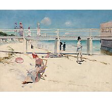 Charles Conder - A holiday at Mentone 1888 Australian Seascape Marine Photographic Print